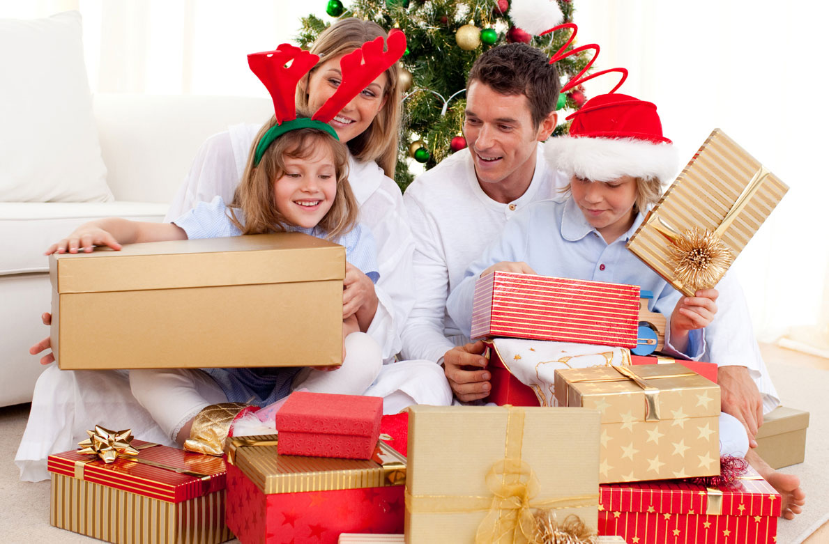 что подарки всей семье картинки новый год результате