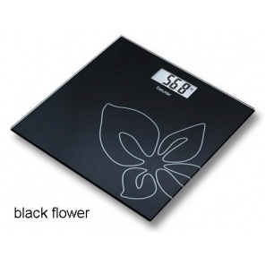 Весы Beurer GS27 Black Flower