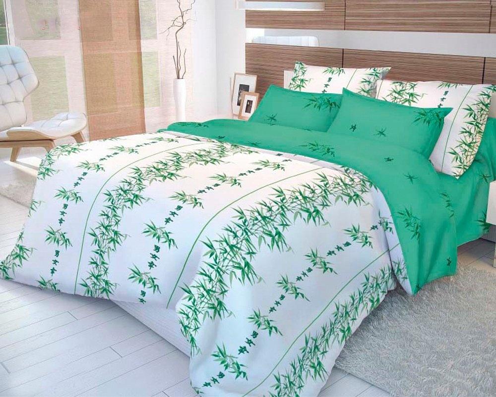Волшебная Ночь Ранфорс (зеленый) (размер: 148х215 см)