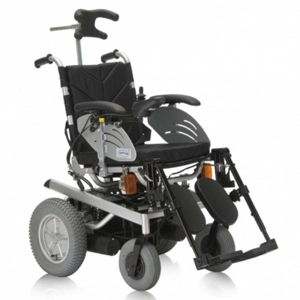 Кресло-коляска Armed FS123GC-43 пневмо задние колеса, литые передние