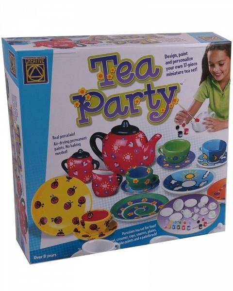 Украшаем чайный сервиз