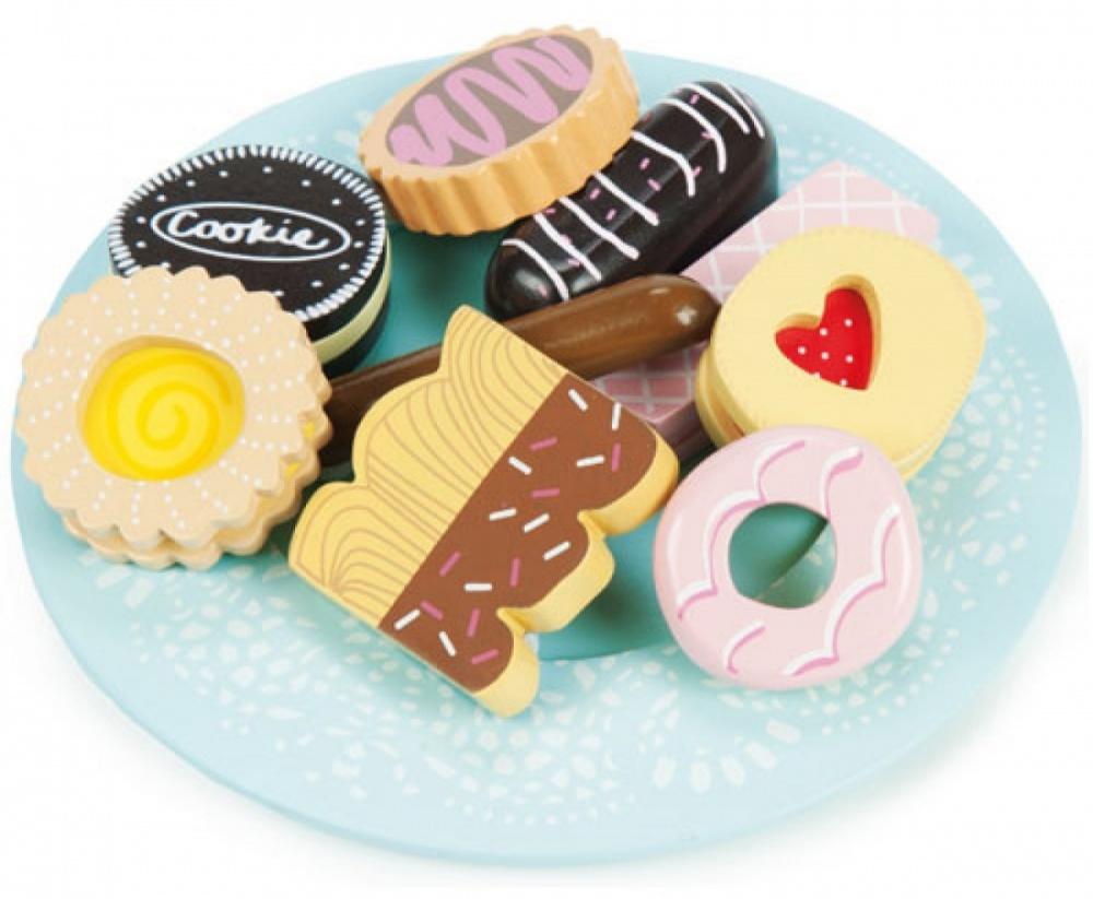 Тарелка с печеньем