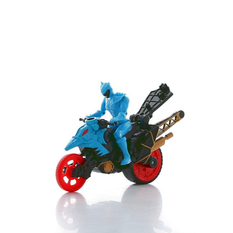 Power Rangers Динобайк и Синий рейнджер