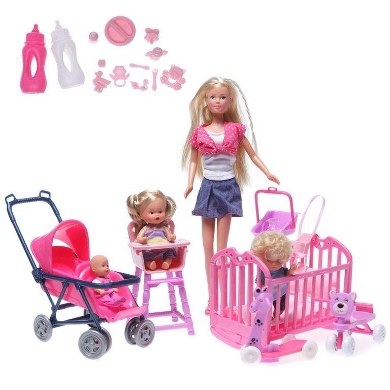 Штеффи с детьми