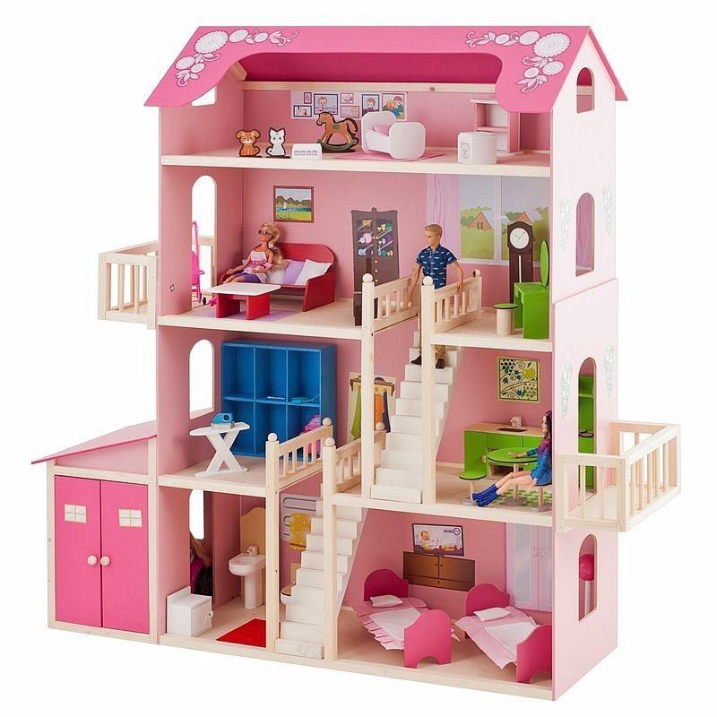 Картинки кукольные домики для барби