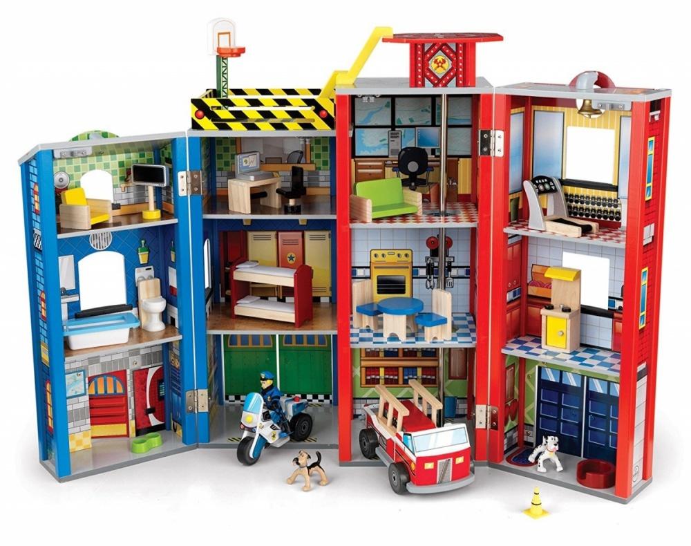 Здание спасательной службы