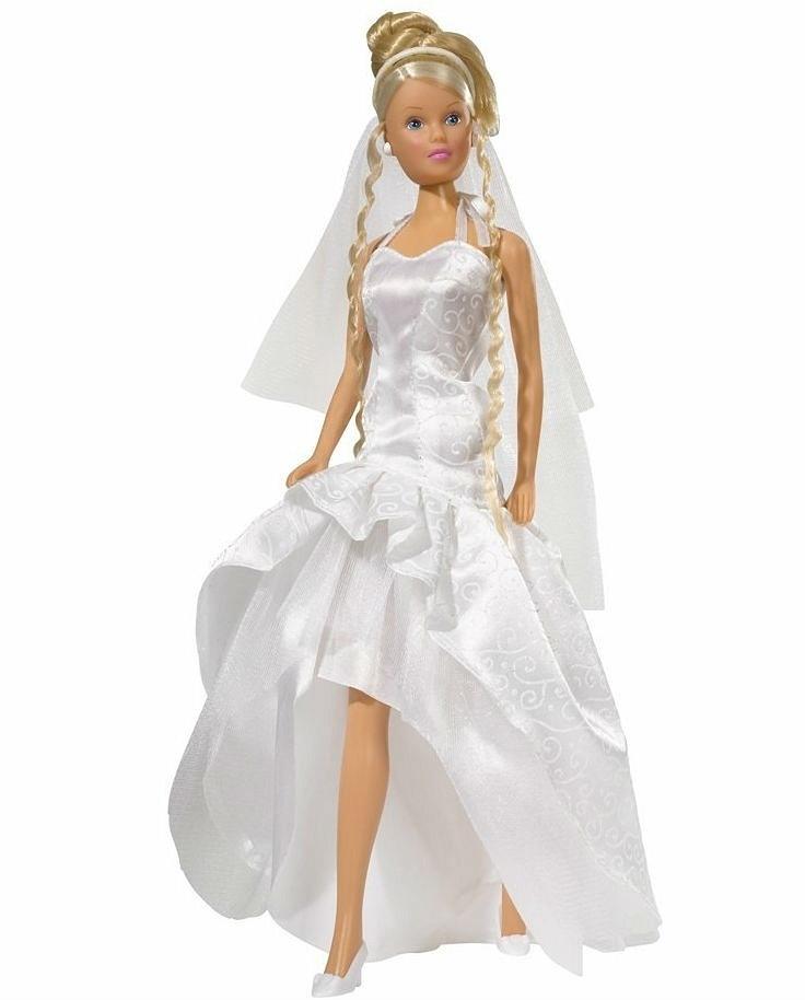 Штеффи в свадебном платье