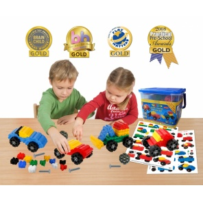 Конструктор Morphun Junior Starter Vehicles Set (200 деталей)