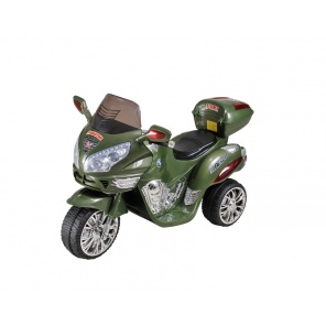 Мотоцикл RiverToys Moto HJ9888 зеленый