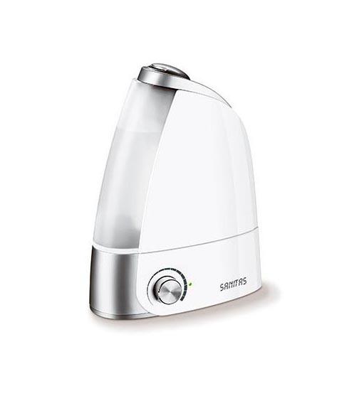Ультразвуковой увлажнитель воздуха Sanitas SLB39 (цвет: белый)