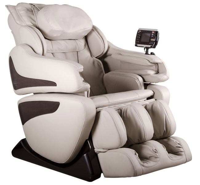 Массажное кресло US Medica Infinity (кремовый)
