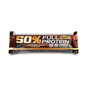 Батончик QNT 50% Full Protein Bar шоколад