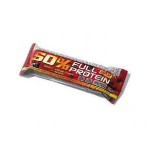 Батончик QNT 50% Full Protein Bar клубника