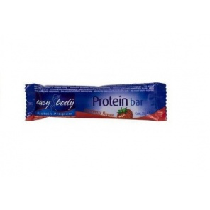 Батончик QNT Easy Body Protein Bar клубника