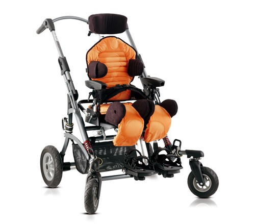 Майгоу оранжевое (ширина сиденья: 20-32.5 см (размер 1))