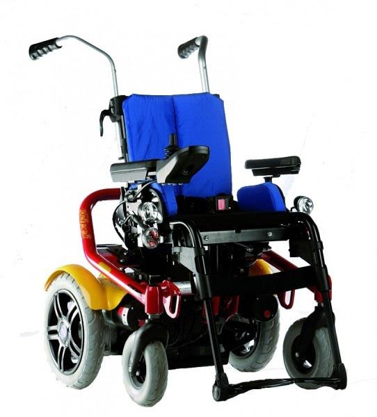 Кресло-коляска для детей Otto Bock Skippy красная