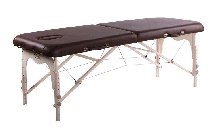 Складной массажный стол Vision Fitness Juventas I (цвет: бежевый)