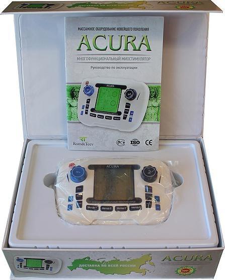Домашний миостимулятор ACURA многофункциональный
