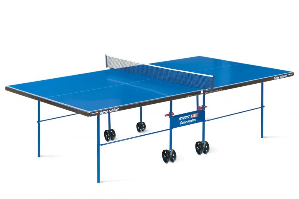Всепогодный теннисный стол Start Line Game Outdoor 6034