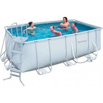Каркасный бассейн Bestway Rectangular Frame Pools 56241