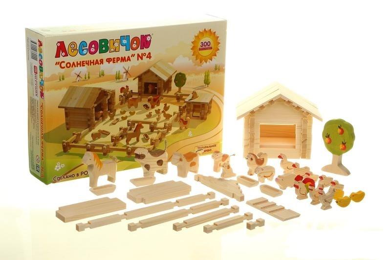 Солнечная ферма 300 деталей