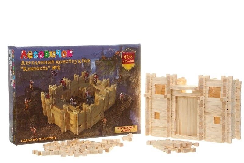 Крепость 405 деталей