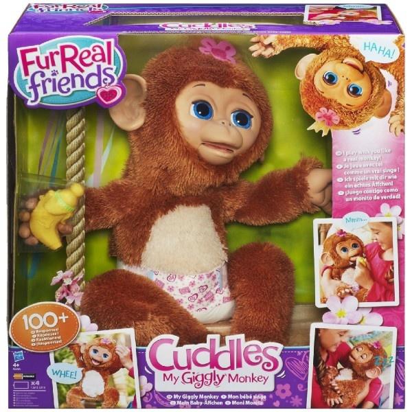 FurReal Friends Смешливая обезьянка