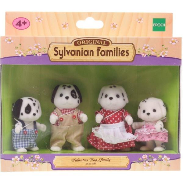 Игровой набор Sylvanian Families Семья далматинцев