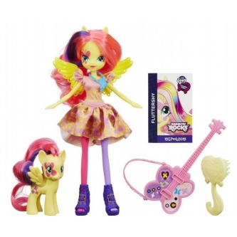 Кукла HASBRO My Little Pony Equestria Girls с пони Fluttershy
