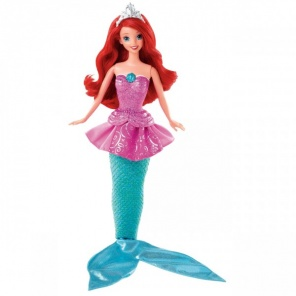 Кукла Disney Princess Mattel Ариэль 2 в 1