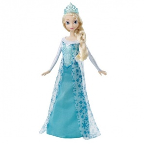 Кукла Disney Princess Mattel Холодное сердце Эльза поет песню