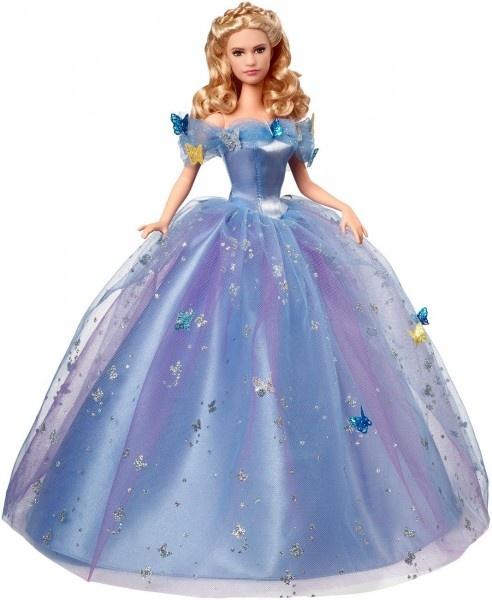 Принцесса Золушка в бальном платье