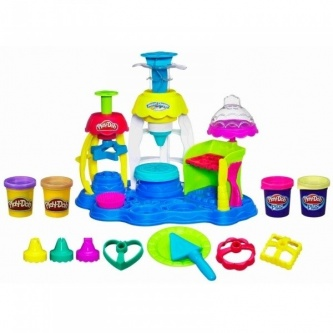 Набор для лепки Hasbro Play-Doh Фабрика пирожных