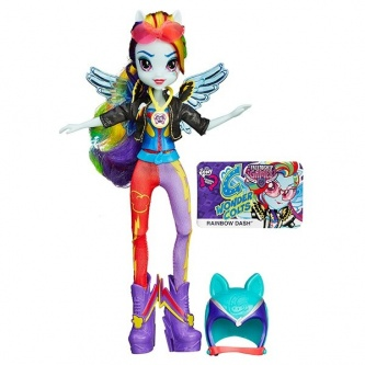Кукла Hasbro My Little Pony Equestria Girls Спорт Вондеркольты Рэйнбоу Дэш