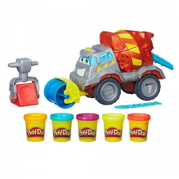 Play-Doh Задорный цементовоз Вова