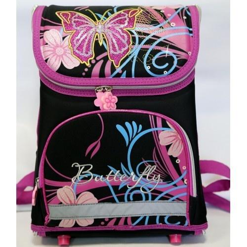 Бабочки черно-фиолетовый