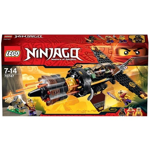 Ninjago Лего Ниндзяго Скорострельный истребитель Коула