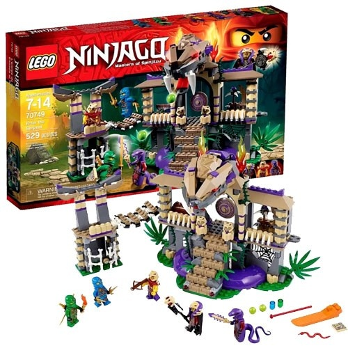 Ninjago Храм Клана Анакондрай