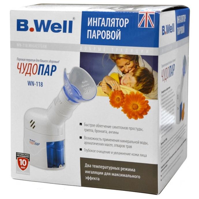 Ингалятор паровой с термостатом B. Well WN-118